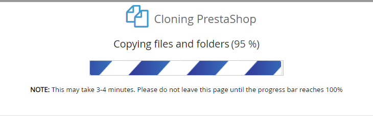 Softaculous & VestaCP – Cloning is stucking at 95%